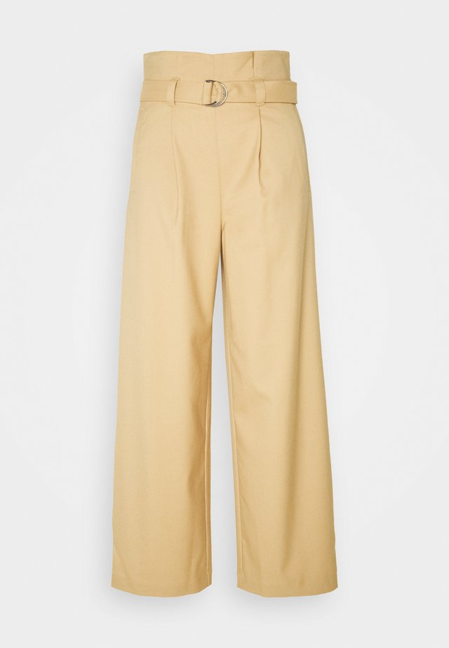 VERA TROUSERS - Pantalon classique - beige