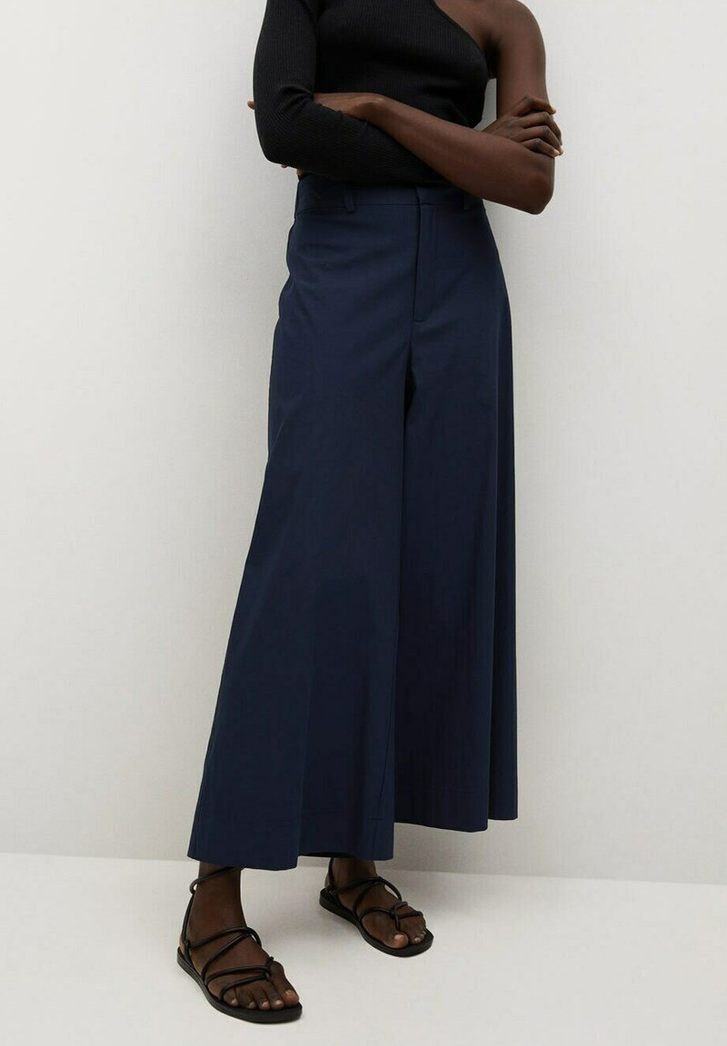 Mango - CIEL - Trousers - donkermarine