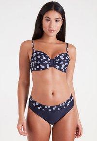 LASCANA - GLUE - Bikini - navy/white - 0