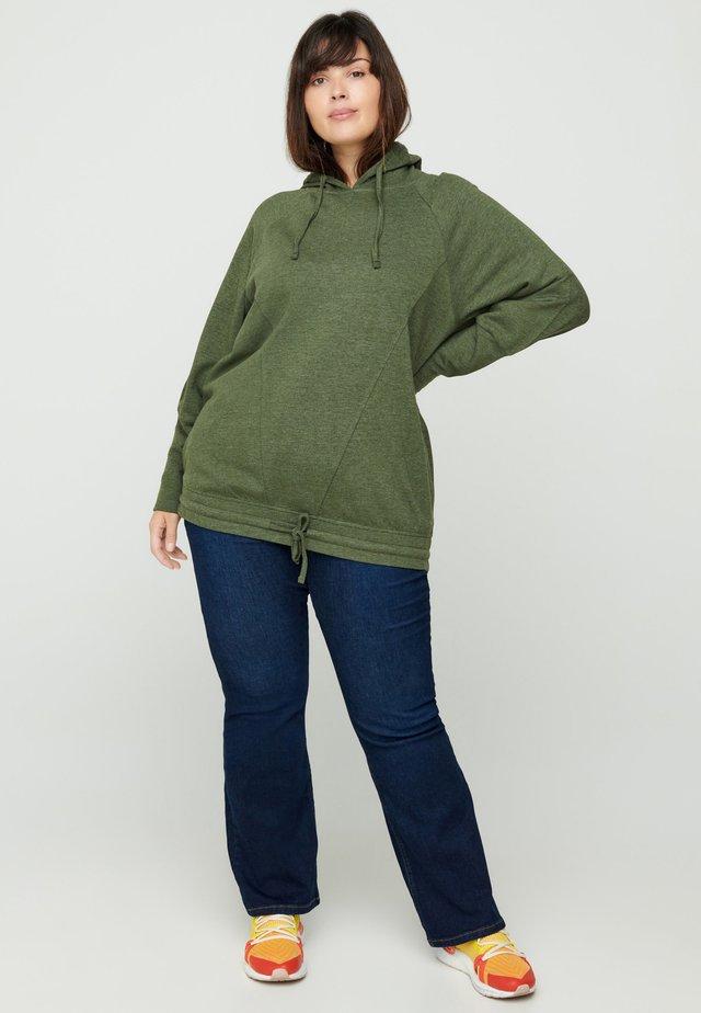 Bluza z kapturem - army