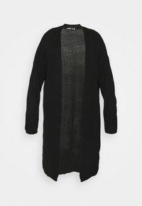 Missguided Plus - LONGLINE - Cardigan - black - 5
