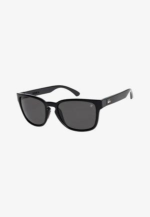 REKIEM  - Sunglasses - shiny black/polarized grey