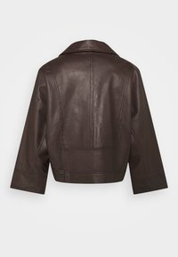 RIANI - Leather jacket - onyx brown - 1