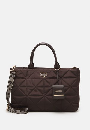 SET - Ručna torba - brown dark