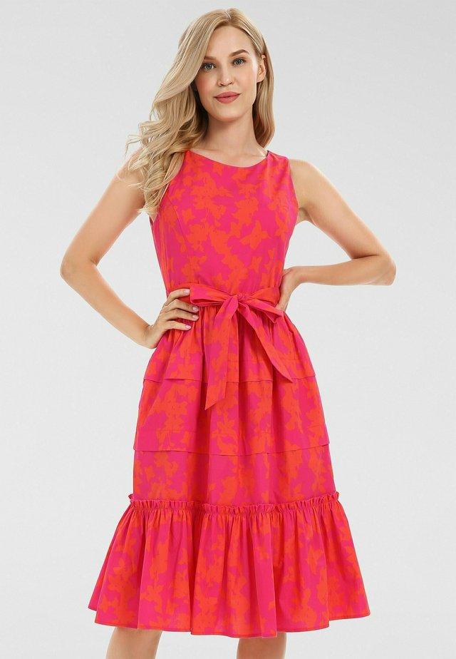 Vestito estivo - pink orangerot