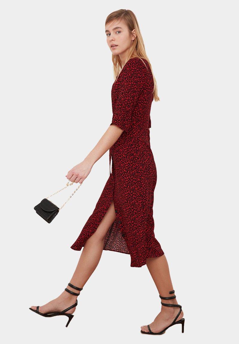 Trendyol - Shirt dress - red