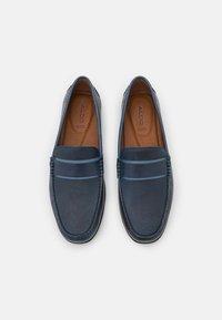 ALDO Wide Fit - DAMIANFLEX - Mokassin - dark blue - 3
