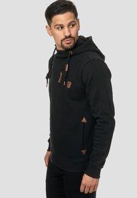 INDICODE JEANS - ELM - Zip-up hoodie - black - 3