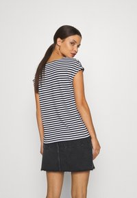Anna Field Petite - Print T-shirt - black/white - 2