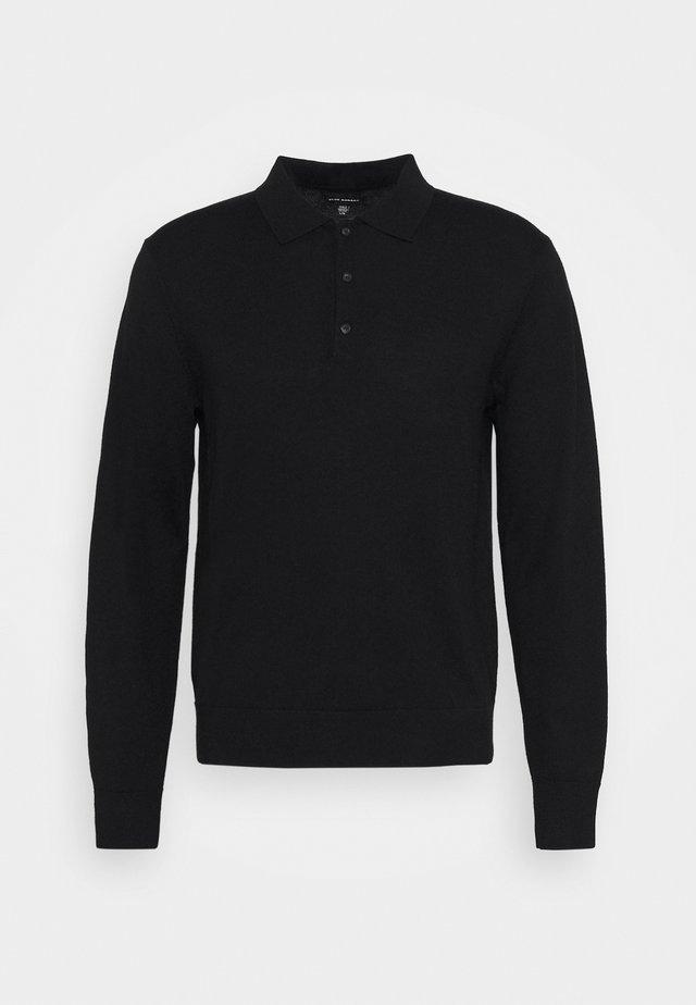 RESPONSIBLE POLO - Pullover - black
