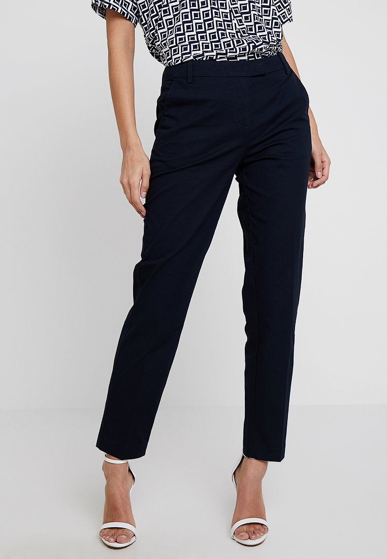 Marc O'Polo - PANTS REGULAR RISE BUT COMFY - Trousers - thunder blue