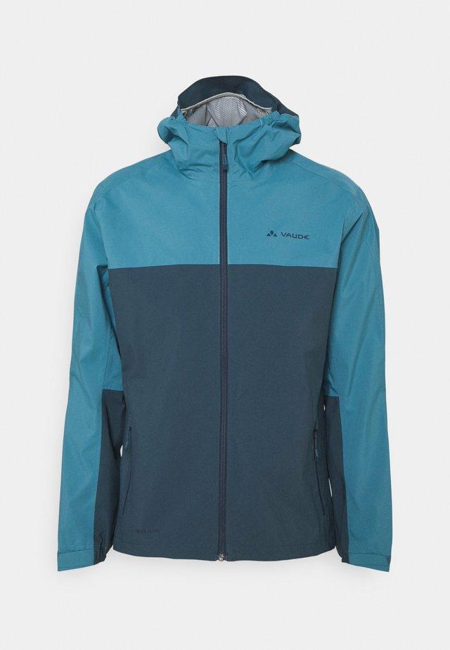 ME MOAB RAIN JACKET - Hardshell jacket - blue gray
