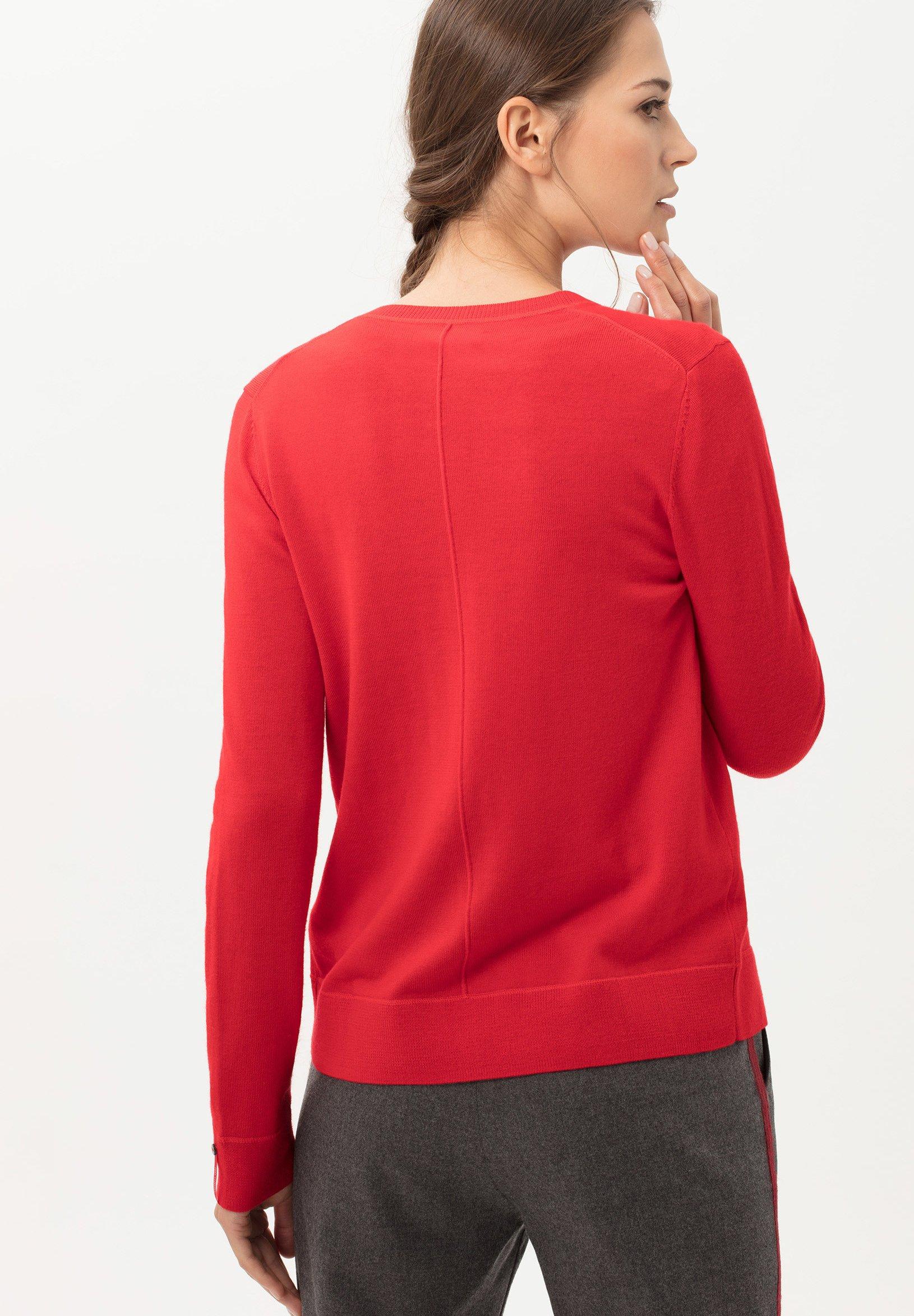 BRAX STYLE ANN - Strickjacke - wild red   Damenbekleidung billig