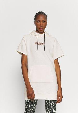 TIGER KING LOGO SNEAKER DRESS - Sports dress - egg nog