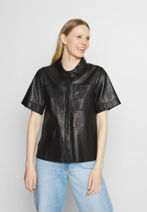TAYLOR - Button-down blouse - black