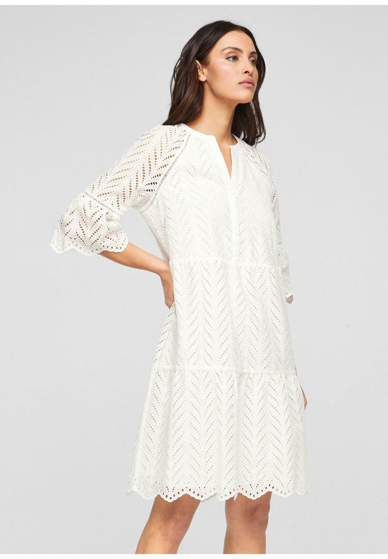 s.Oliver BLACK LABEL - Day dress - white