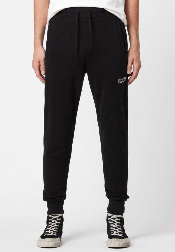 AllSaints STATE - Spodnie treningowe - black/czarny Odzież Męska BJXO