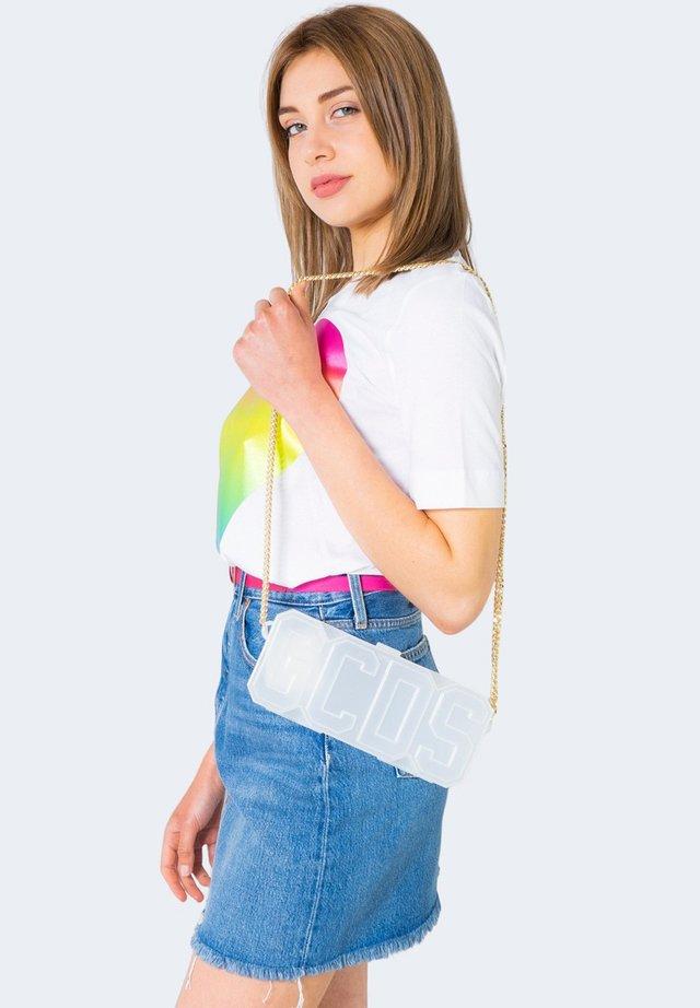 RIGIDA LOGO - Across body bag - white