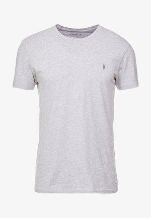 TONIC CREW - Basic T-shirt - grey marl