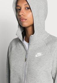 Nike Sportswear - Bluza rozpinana - grey heather/white - 4