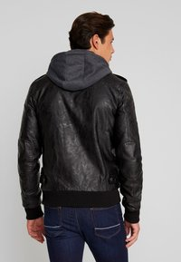 INDICODE JEANS - ULLE - Faux leather jacket - black - 2