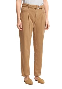 comma casual identity - Trousers - brown - 4