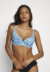 Pour Moi - ODYSSEY UNDERWIRED NON PADDED - Bikinitop - blue - 0