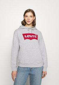 Levi's® - GRAPHIC STANDARD HOODIE - Felpa con cappuccio -  heather grey - 0