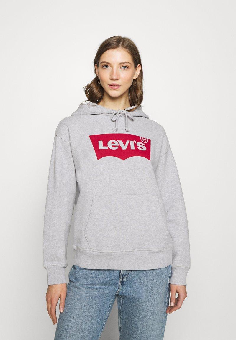 Levi's® - GRAPHIC STANDARD HOODIE - Felpa con cappuccio -  heather grey