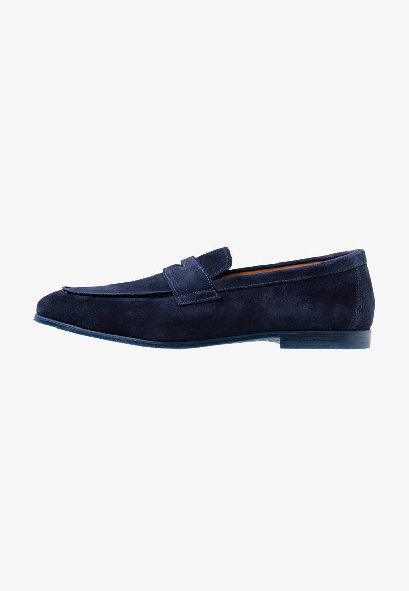 Doucal's - PENNY LOAFER - Mocassini eleganti - indaco