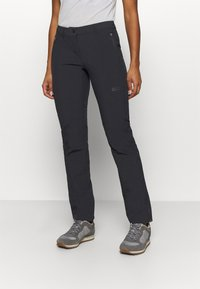 Jack Wolfskin - ACTIVATE SKY PANTS - Trousers - black - 0