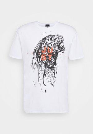 Print T-shirt - optical white