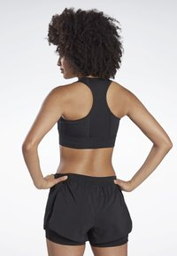 Reebok - RUNNING ESSENTIALS HIGH-IMPACT BRA - Sports-bh'er - black - 2