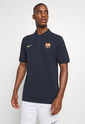 FC BARCELONA  - Club wear - dark obsidian/amarillo
