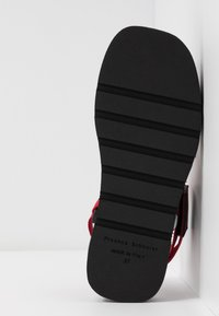 Proenza Schouler - Platform sandals - rosso/bianco - 6