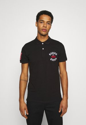 JJAPPLICA - Polo shirt - black