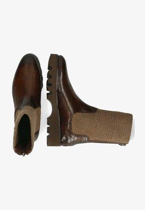 VEGAS CROCK DARK - Boots - brown