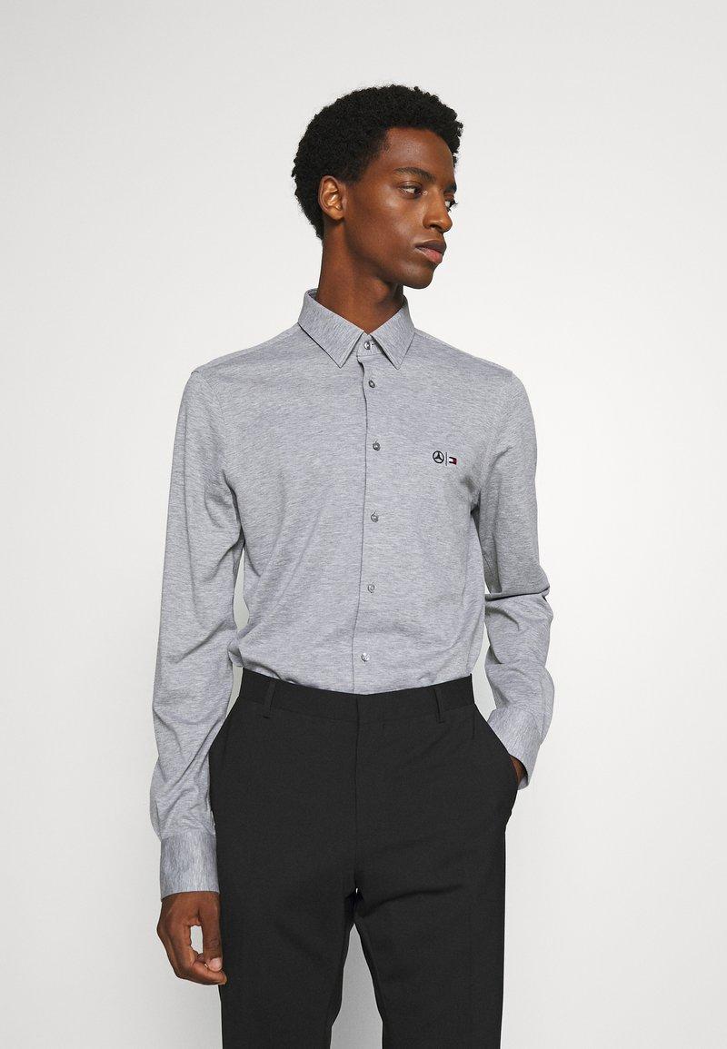 Tommy Hilfiger Tailored - TECH FLEX SLIM - Shirt - grey