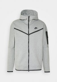 dk grey heather/black