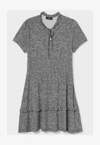 C&A - Day dress - black/white - 0