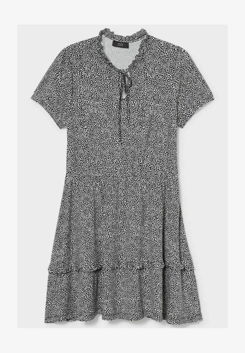 C&A - Day dress - black/white