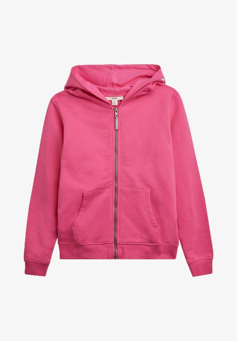 Esprit - Zip-up hoodie - pink