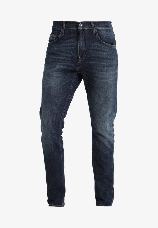 Tiger of Sweden Jeans PISTOLERO - Jeansy Straight Leg - underdog/niebieski denim Odzież Męska BTMB