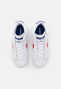 Converse - PRO BIRTH OF FLIGHT UNISEX - High-top trainers - white/rush blue/university red - 3