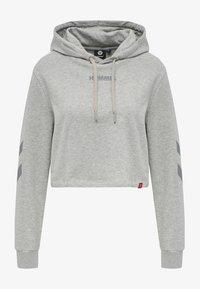 Hummel - Hættetrøjer - grey melange - 3