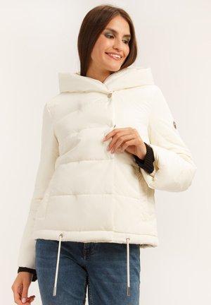 MIT KUSCHELIGER - Winter jacket - beige