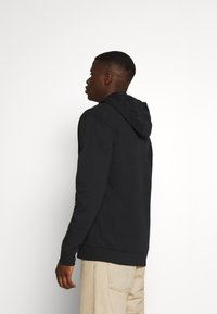 Tommy Jeans - CLASSICS ZIPTHROUGH - Mikina na zip - black - 2