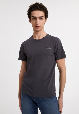 JAAMES STATEMENT - T-shirt print - anthracite