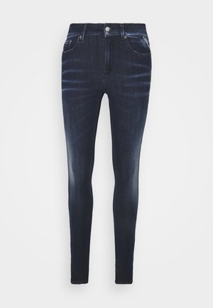 LUZIEN HYPERFLEX SHADES PANTS - Jeans Tapered Fit - dark blue