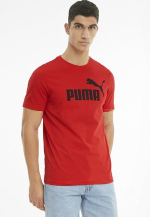 LOGO TEE - T-shirt con stampa - high risk red